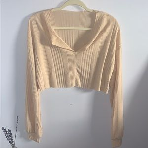 Cropped Long Sleeve top!